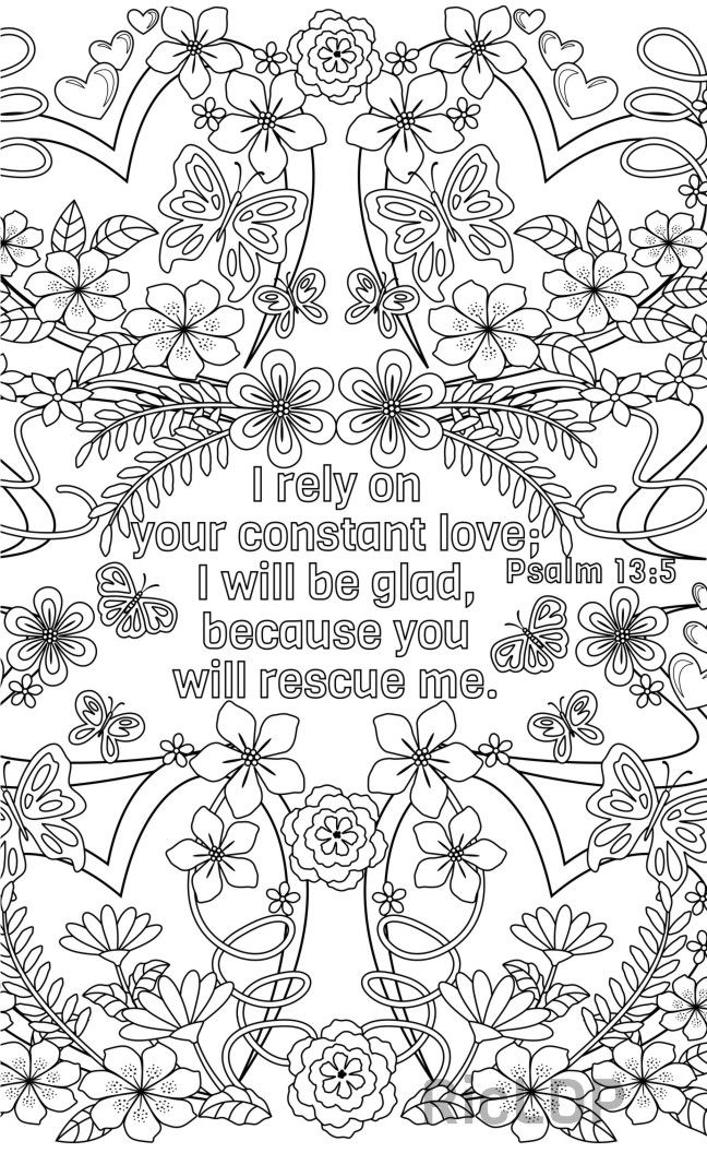 Bundle of 14 Bible Coloring Pages