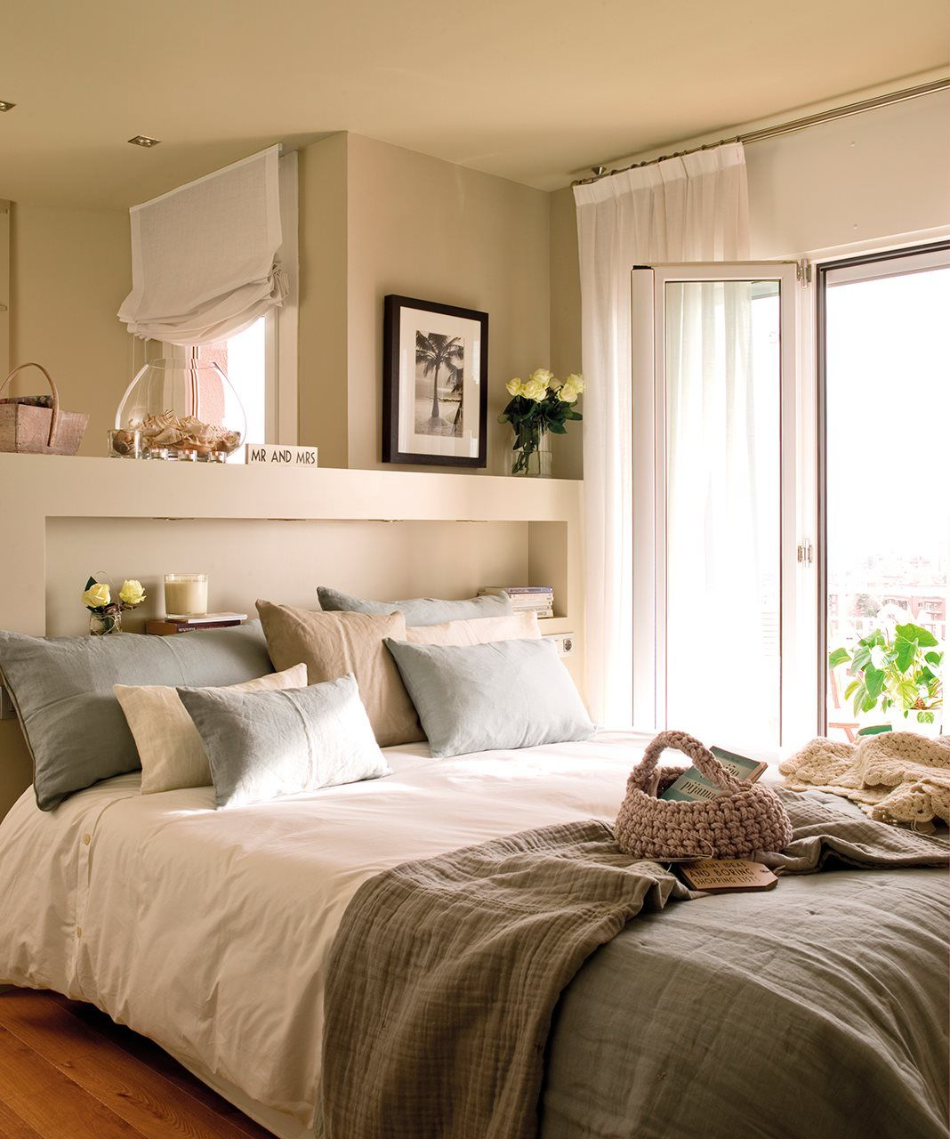 Design habitación 10 metros : Una reforma 10: estudió los metros Â¡y ganó! · ElMueble.com · Casas ...