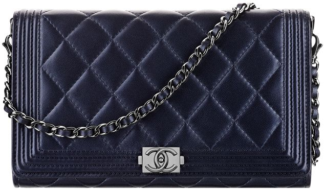 f8ff78635359 Chanel Boy Wallet On Chain | Chanel Wallet On a chain | Chanel ...