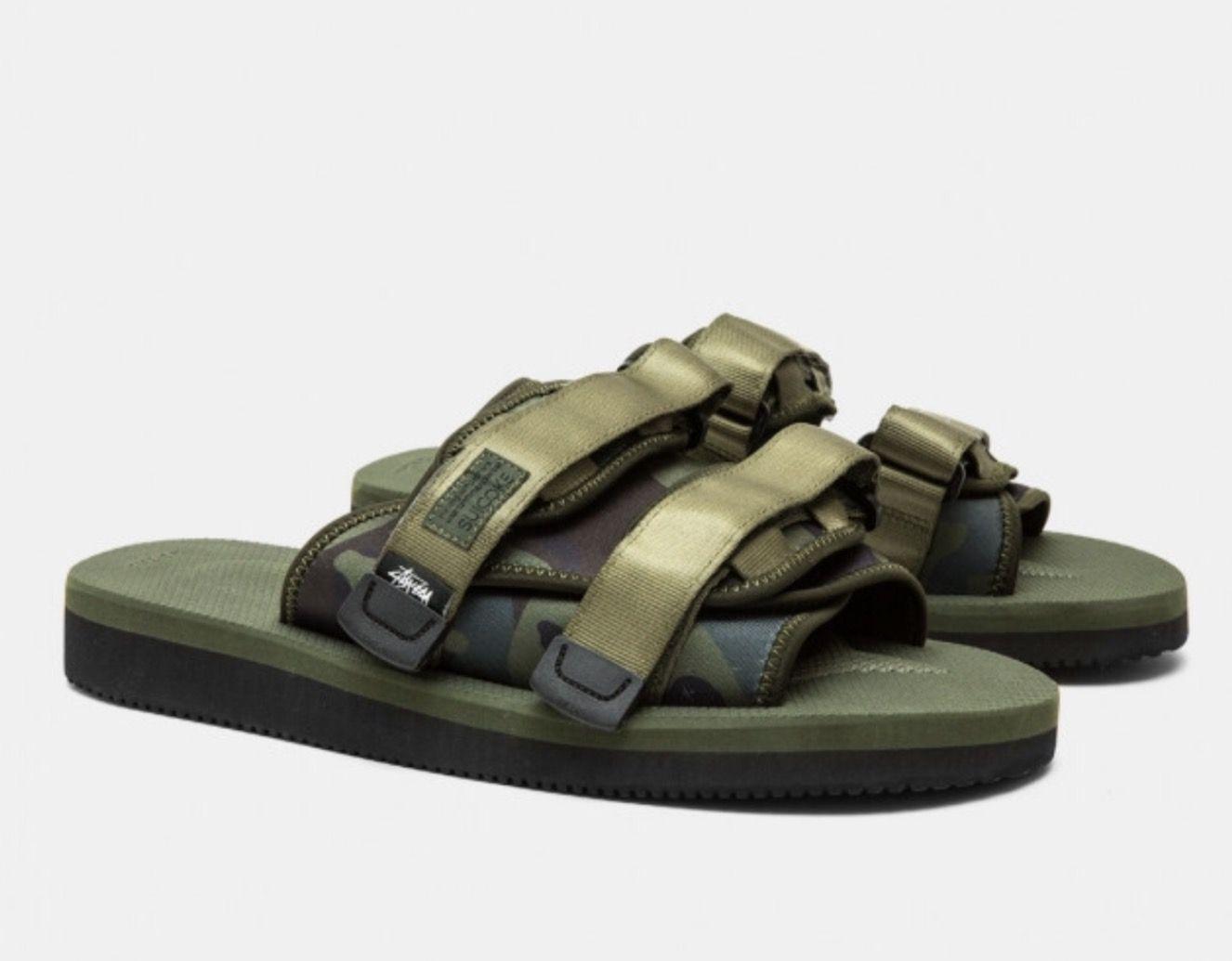 6f8389424f11 Stussy X Suicoke Moto sandals