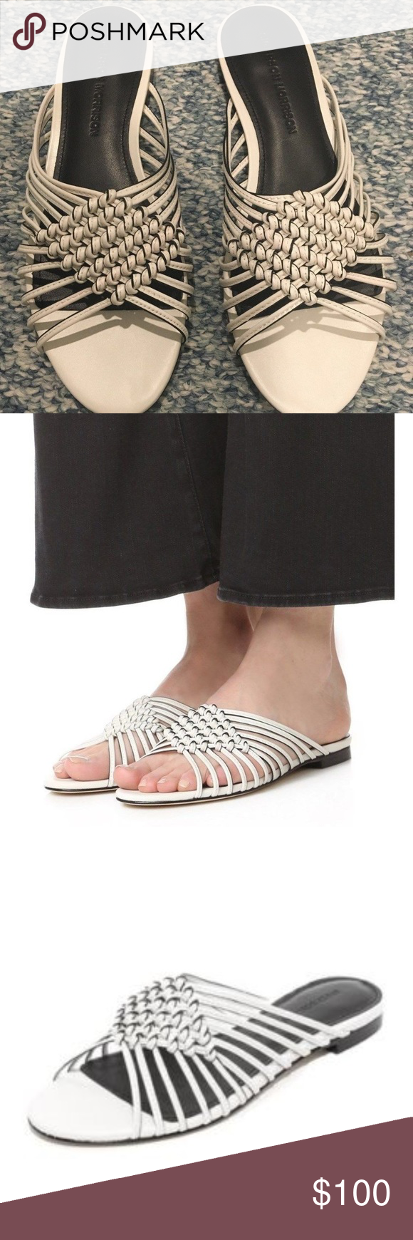 Sigerson Morrison Aggie Slide Sandals Size 7 NIB! These BRAND NEW Sigerson Morrison slides are so ch...