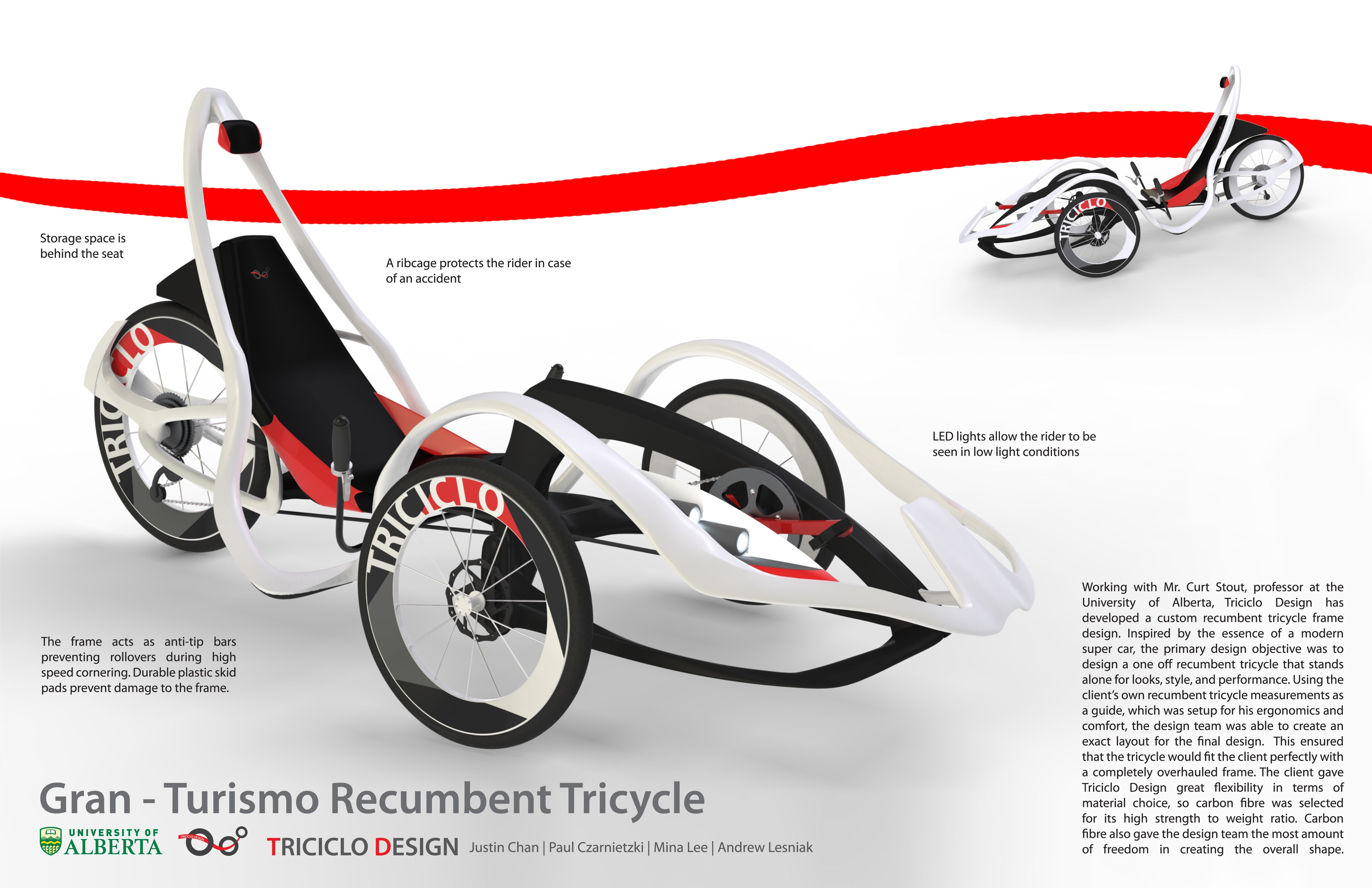 Gran Turismo Recumbent Tricycle by Justin Chan at Coroflot.com  sc 1 st  Pinterest & Gran Turismo Recumbent Tricycle by Justin Chan at Coroflot.com ... islam-shia.org