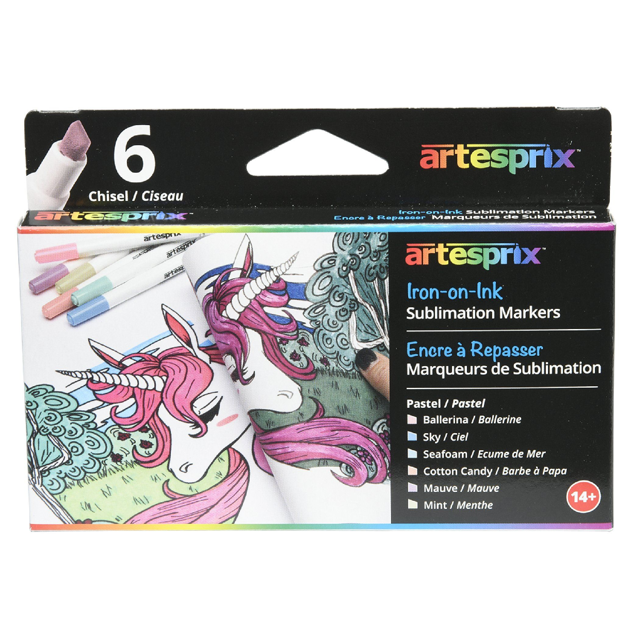 Pastel Sublimation Markers