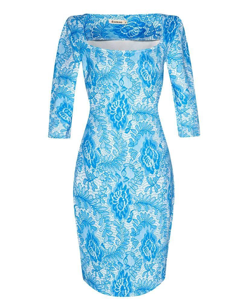 Women Dress Summer Elegant Floral Print Vestidos Work Business ...