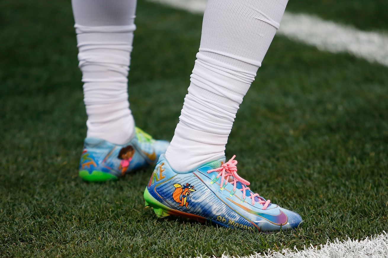 My cause my cleats some of the cleats and causes the