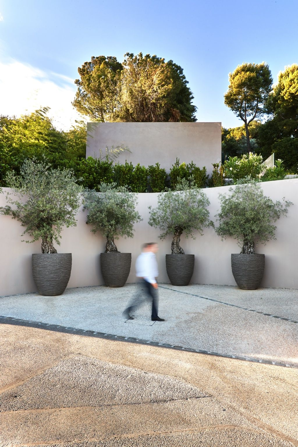 Private Residence Outdoor pots, Garden design, Outdoor deco