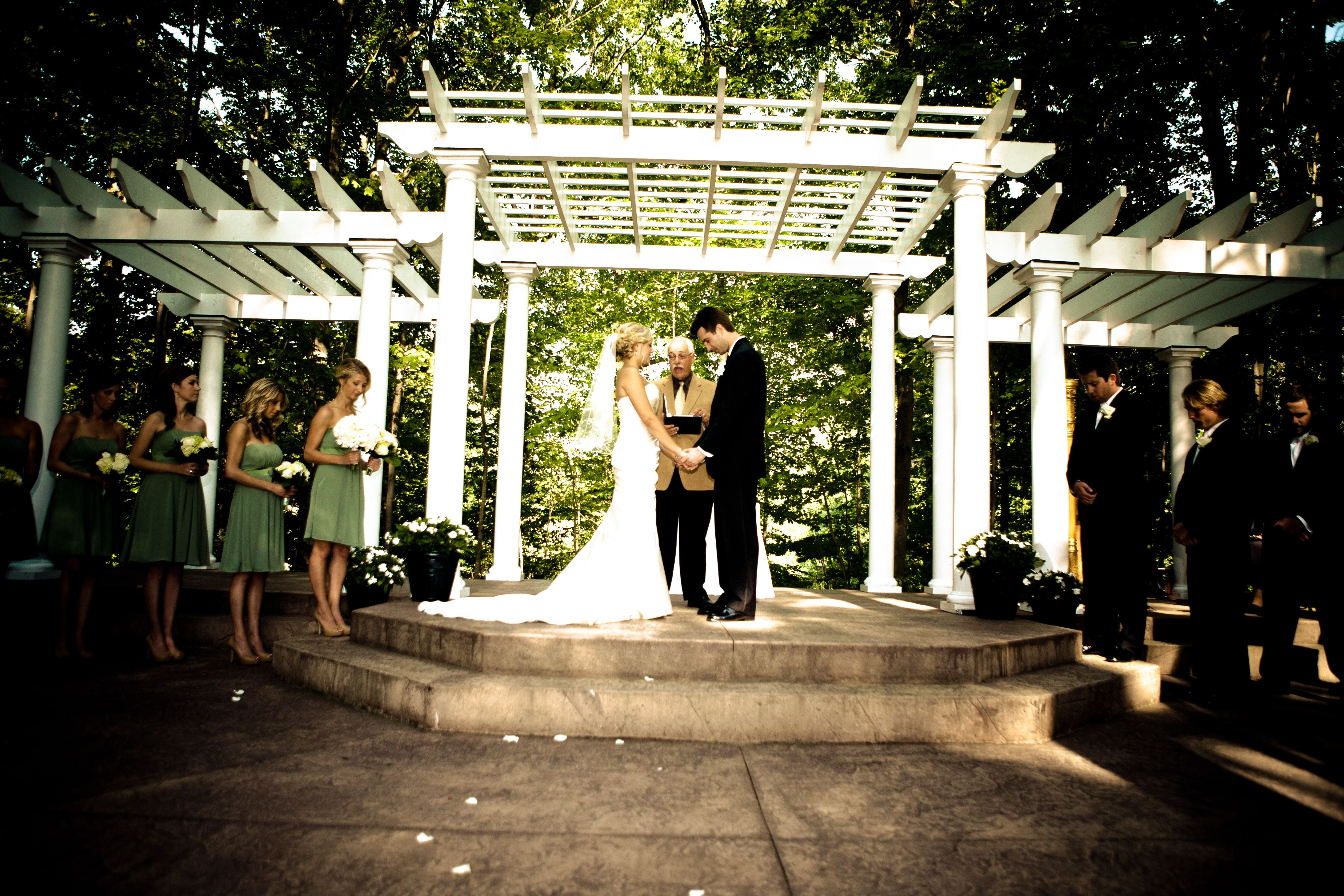 Ceremony Grove At Manakiki Golf Course Willoughby Ohio