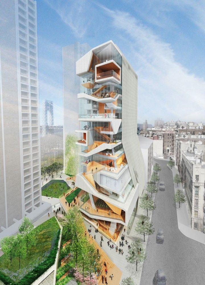 Diller Scofidio + Renfro diseña el nuevo Edificio de Medicina para la Universidad de Columbia
