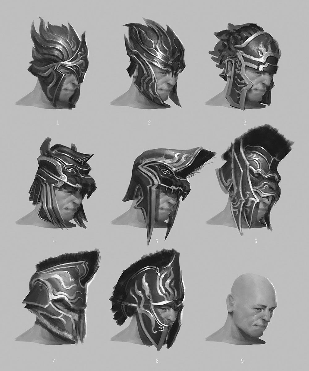 Force Character Design From Life Drawing Pdf Free : Fantasy helmet designs pixshark images