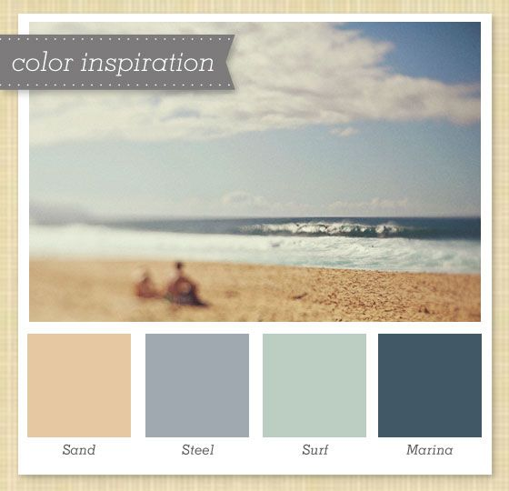 I Like These Dusty Blues With The Sand Color Very Relaxing Gray Blue Palette