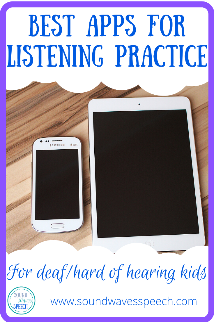 Listening Apps for D/HH kids