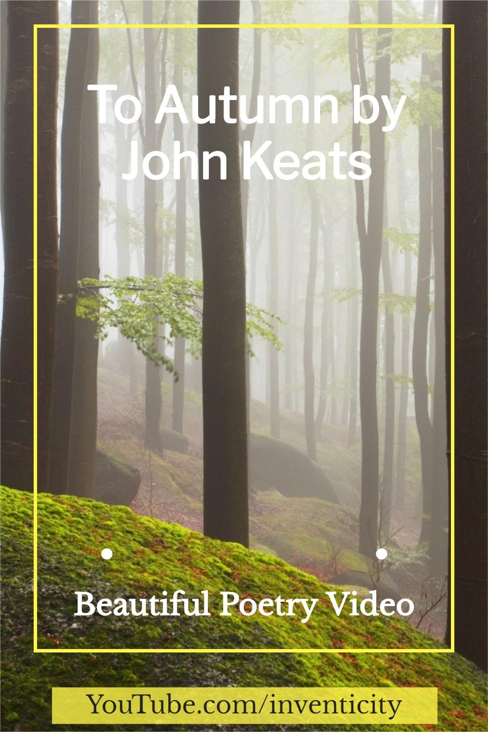 Well Being To Autumn By John Keat In 2020 Stres Buster Fall Video Line Explanation Of The Poem Ode Keats