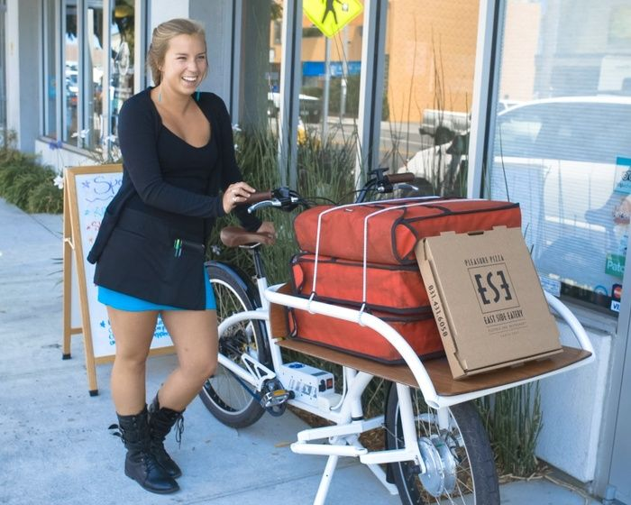 Cargo Bicycles Are The New Car! by Neal Saiki — Kickstarter.  Electric assisted.