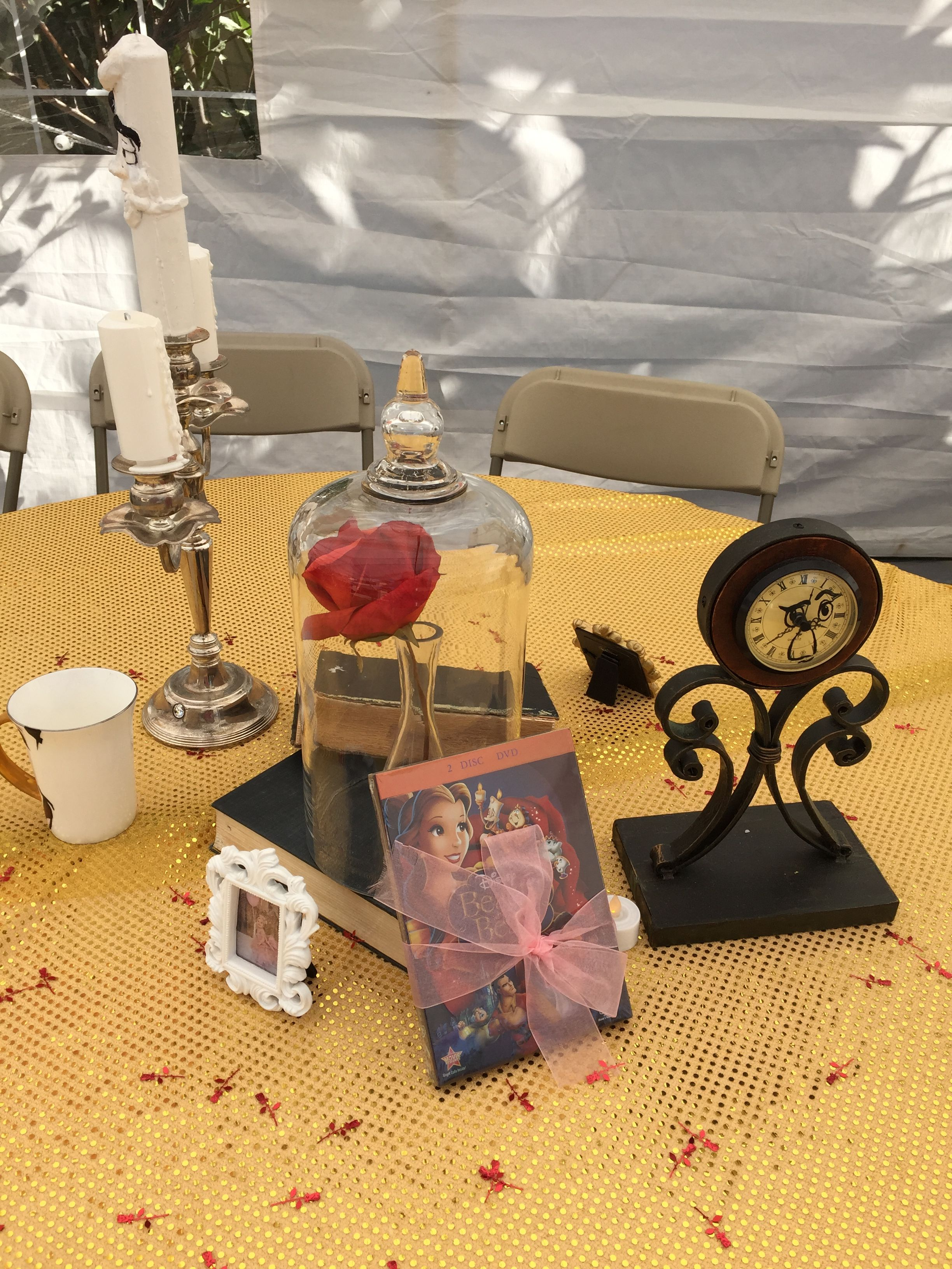 Beauty and the beast center piece do it yourself diy wedding beauty and the beast center piece do it yourself solutioingenieria Image collections