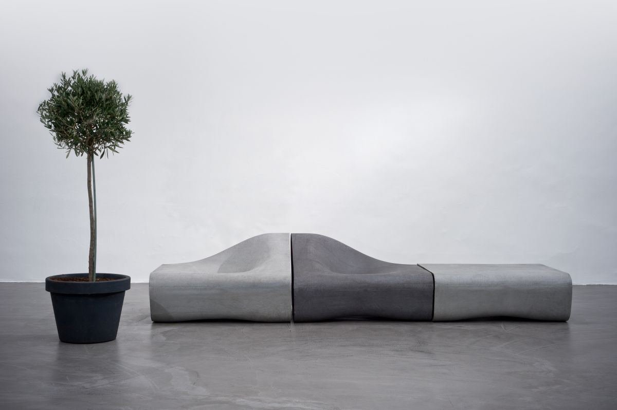 Dune By Rainer Mutsch For Eternit   #concrete #outdoor #seating