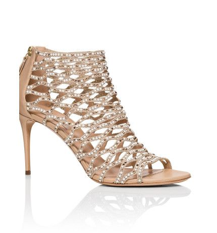 80mm pearl  crystal net sandal t980  david jones