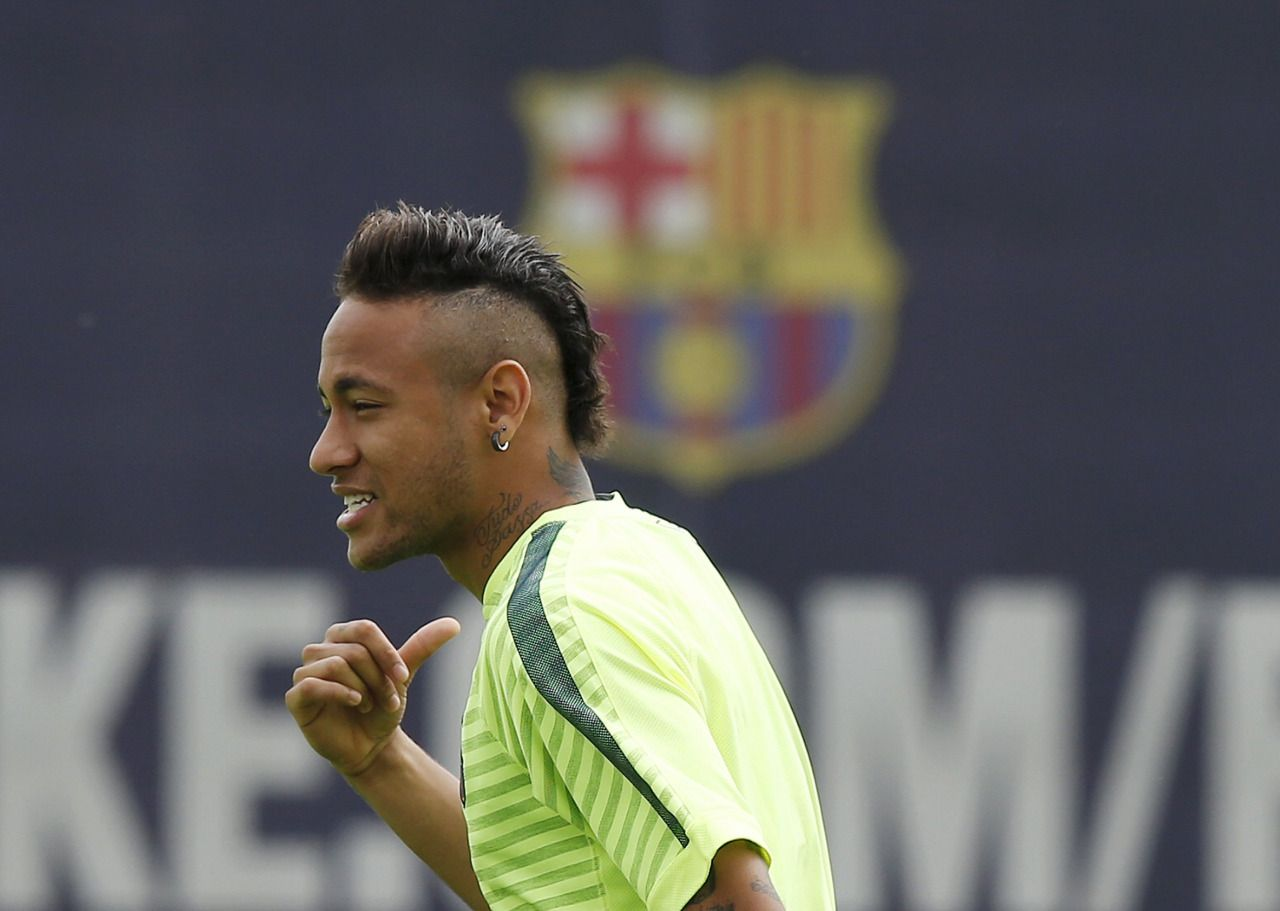 Fanzentrale Neymar 05 05 2015 Training Session Photos By Ap