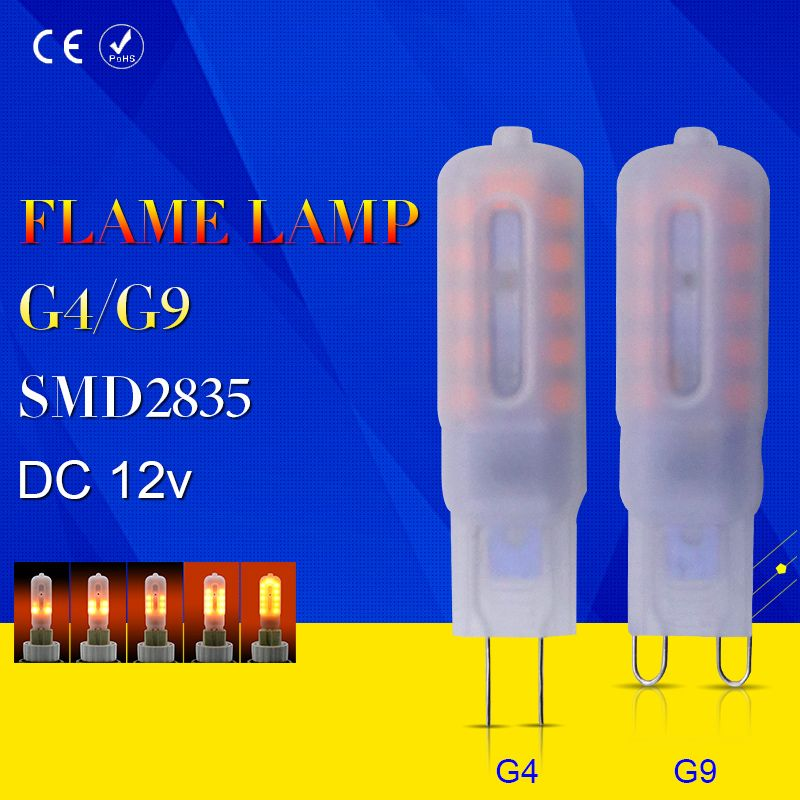 Us 3 99 Feb Only 15 95 Off Led Lamparas Flame Effect Lamp G9 Low Voltage Dc 12v Corn Bulb G4 Led Creative Holiday Li With Images Led Bulb Holiday Lights Led Lights