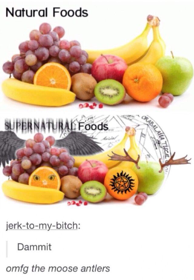 Supernatural foods lol