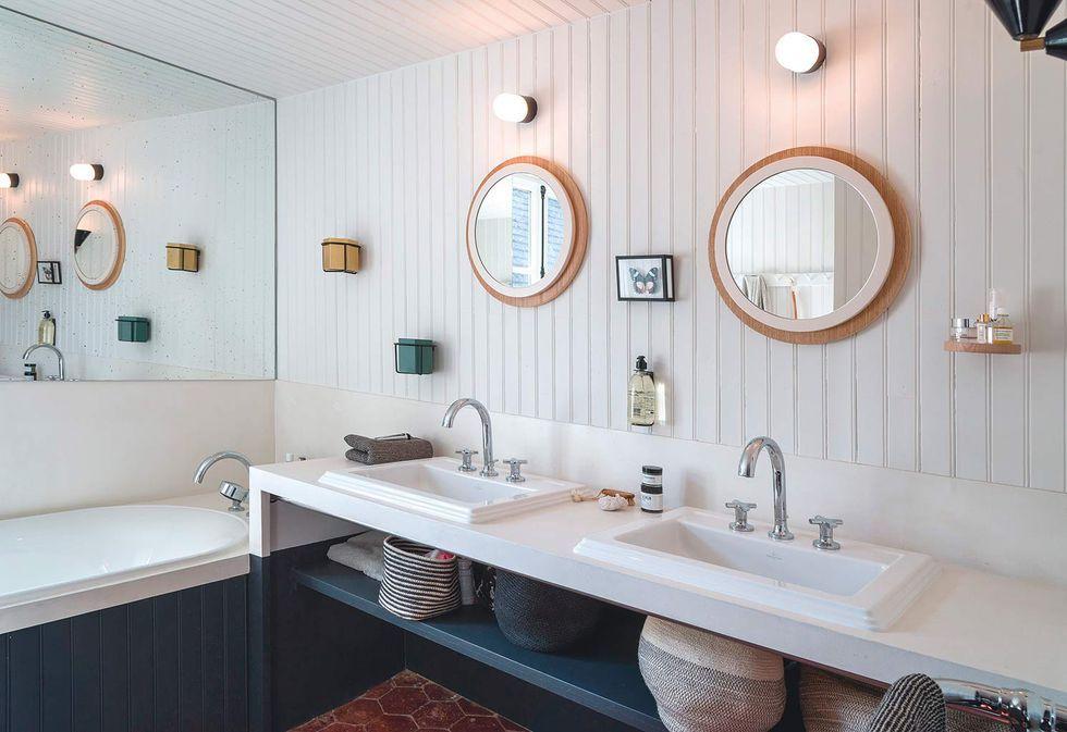 El precioso cuarto de baño de una casita de campo en 2020 ...