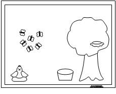 Great Receptive Language Activities for kids. eg. draw