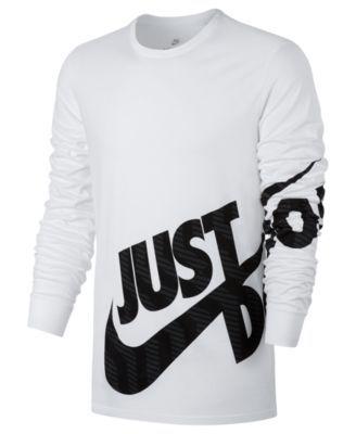 nike t-shirt herren grau just do it