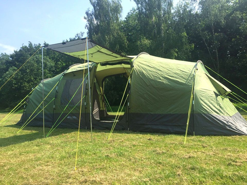 Eurohike Buckingham 6 Elite (Six Man) Tent - C&ing / Festival / Family & Eurohike Buckingham 6 Elite (Six Man) Tent - Camping / Festival ...