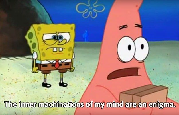 And When He Suddenly Spat Some Deep Poetry Spongebob Quotes Funny Spongebob Quotes Spongebob Funny