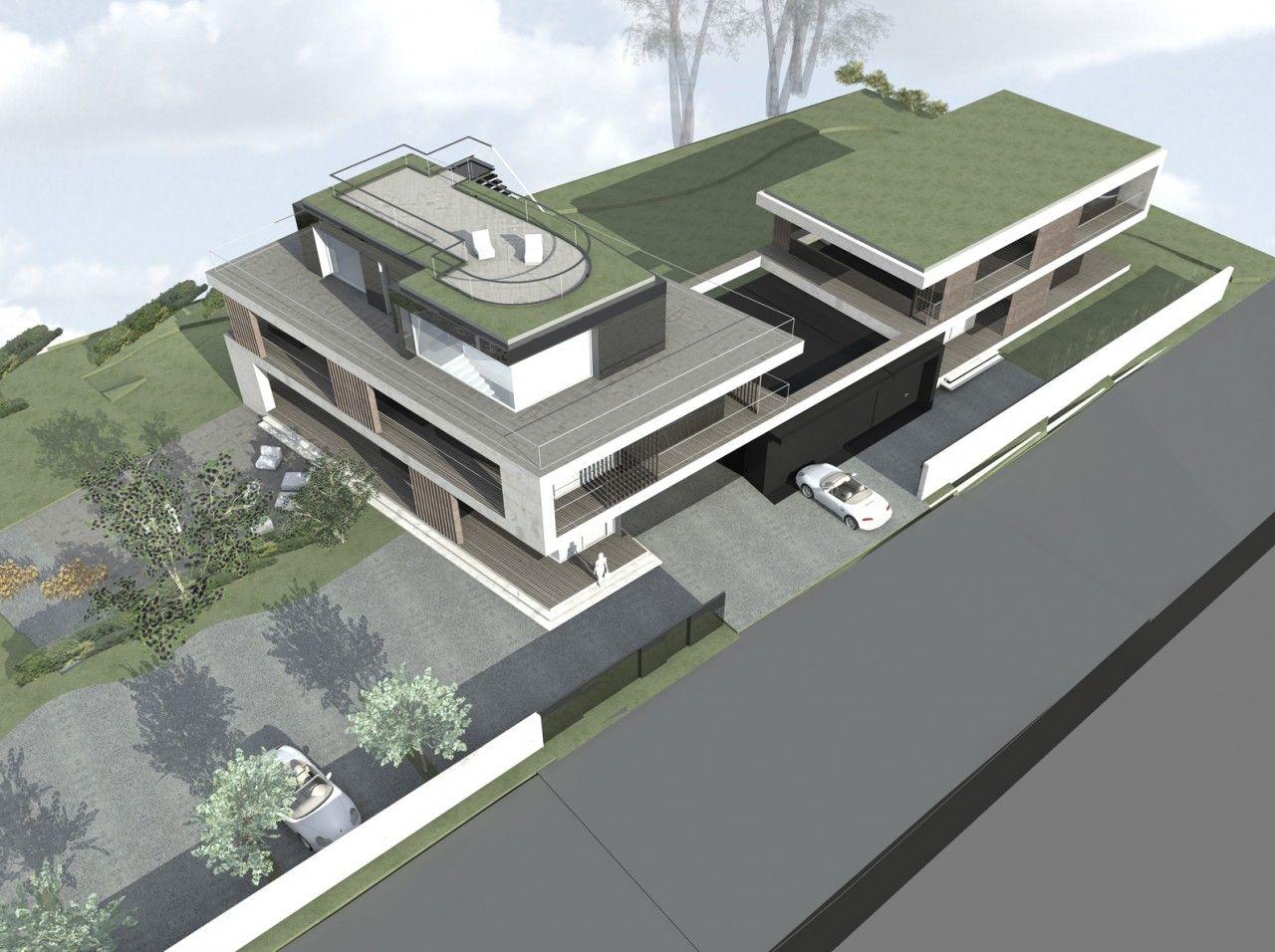 Neubau Zweifamilienhaus Bach Arndt Geiger Herrmann Exterieur In