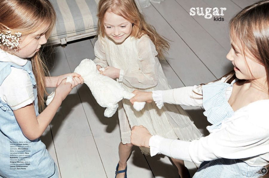 Anya   Kira from Sugar Kids for Marie Claire Enfants by Achim Lippoth. ab71590acdedf