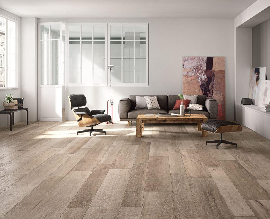 Pavimento rivestimento effetto legno per interni ed esterni new