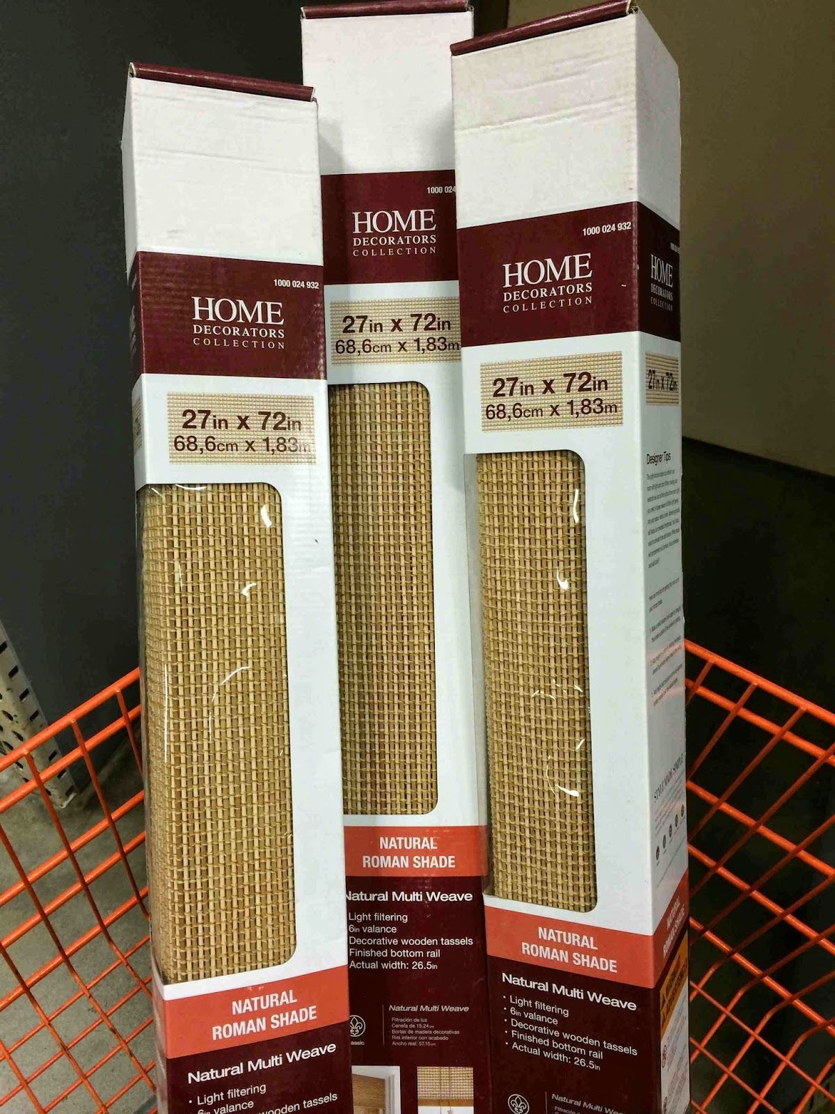 Home Decorators Collection Bamboo Blinds Available At Home Depot In The Honey Co Bamboo Bambu Hemligheten Fonsterdekorationer