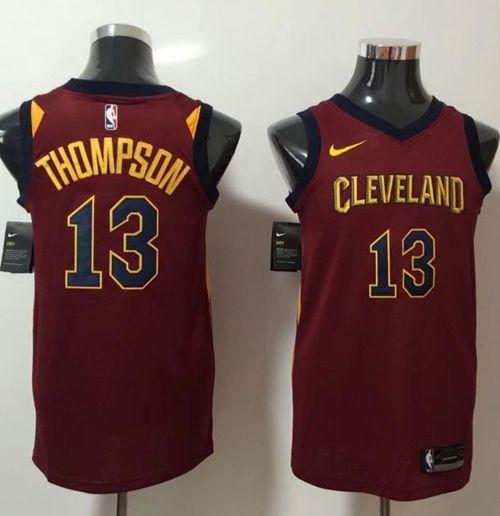 Nike Cavaliers  13 Tristan Thompson Red NBA Swingman Jersey  bdd1cbf78