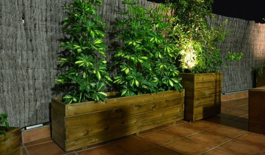 jardineras de madera / huertos urbanos / mesas de cultivo