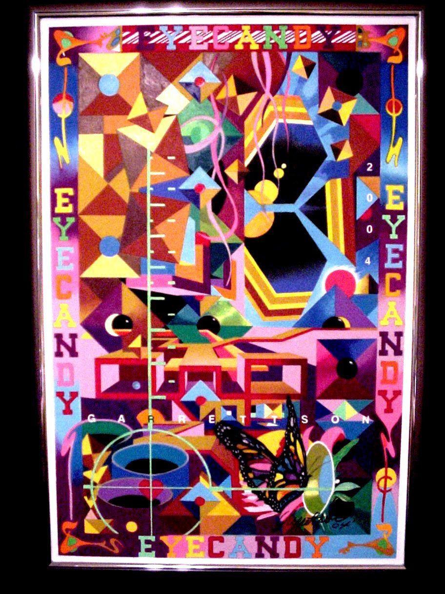 Oil pastel on canvas