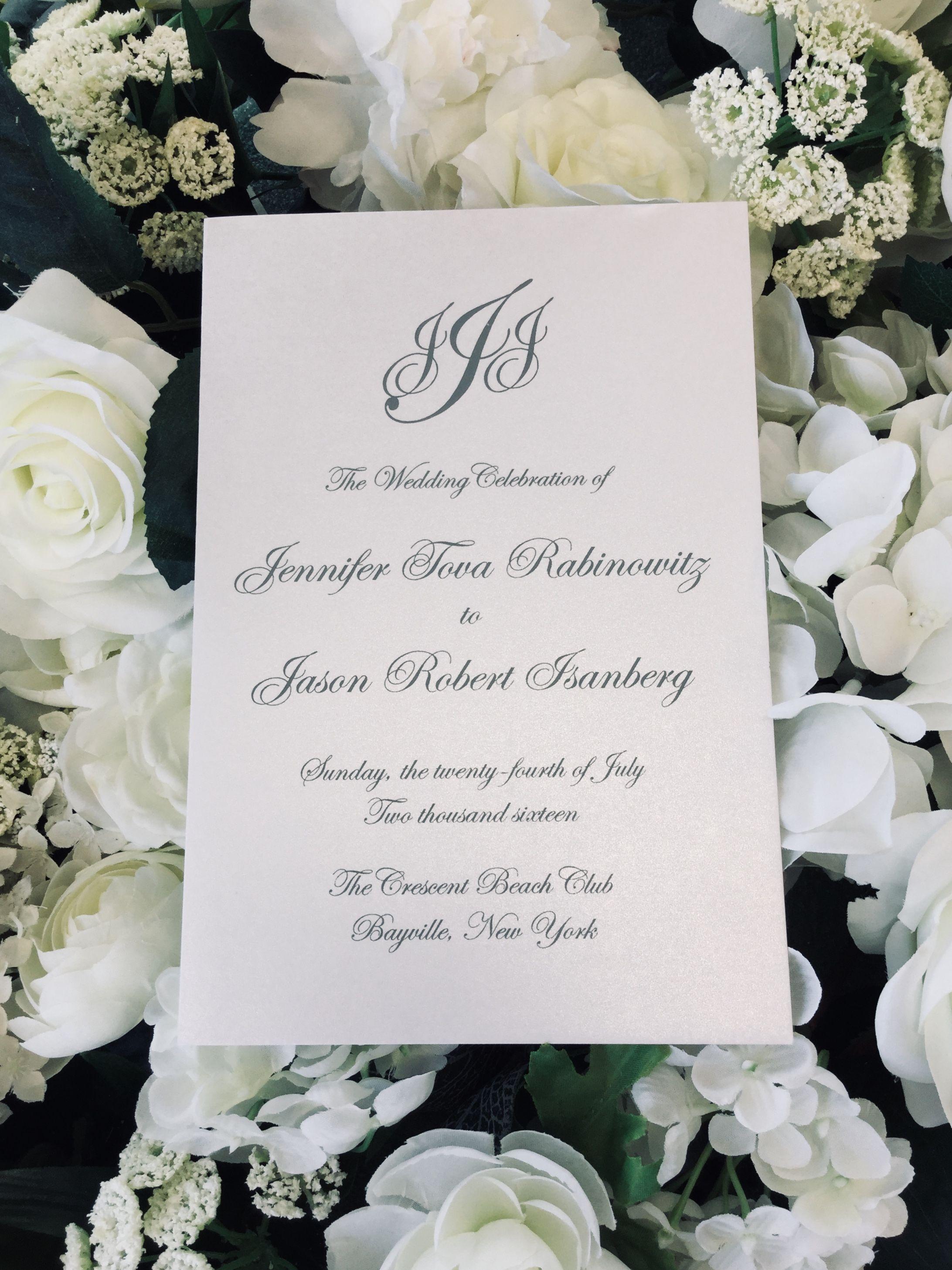 Long Island Ny Wedding Program Long Island Wedding Wedding Programs Custom Wedding Invitations