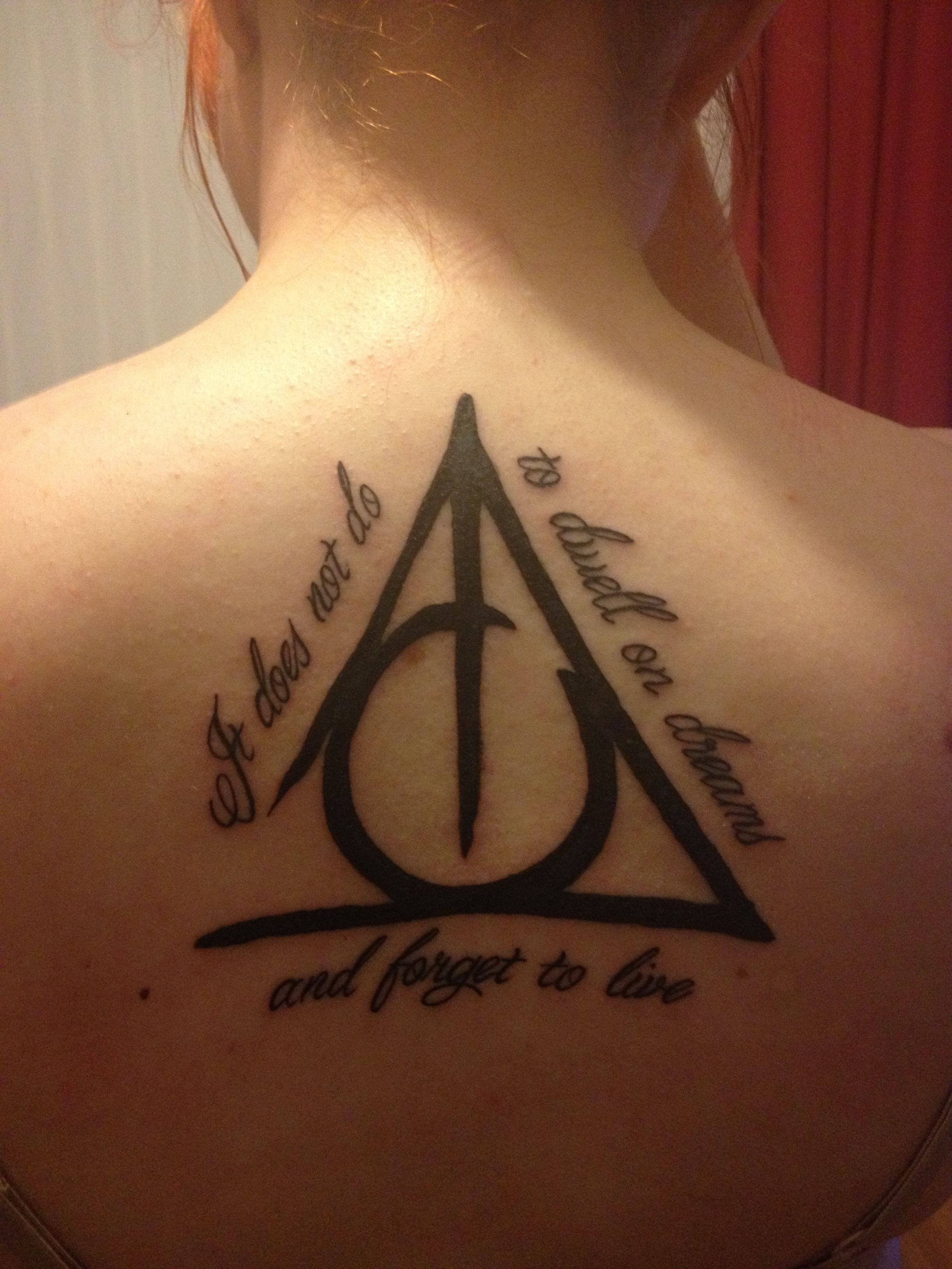 Maybe Not The Quote But Definitely The Three Brothers Symbol