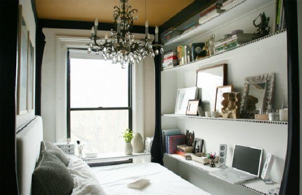 kleine schlafzimmer einrichten tipps | wohnen | pinterest, Wohnzimmer design