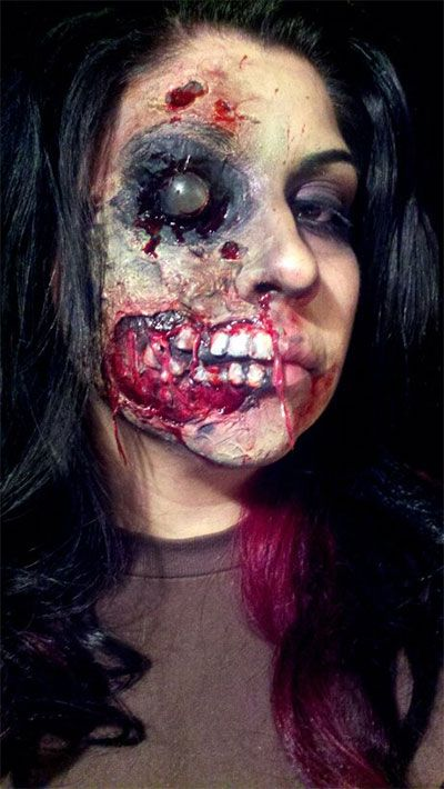 Inspiring yet scary halloween make up ideas 2013 2014 for - Pinturas para halloween ...
