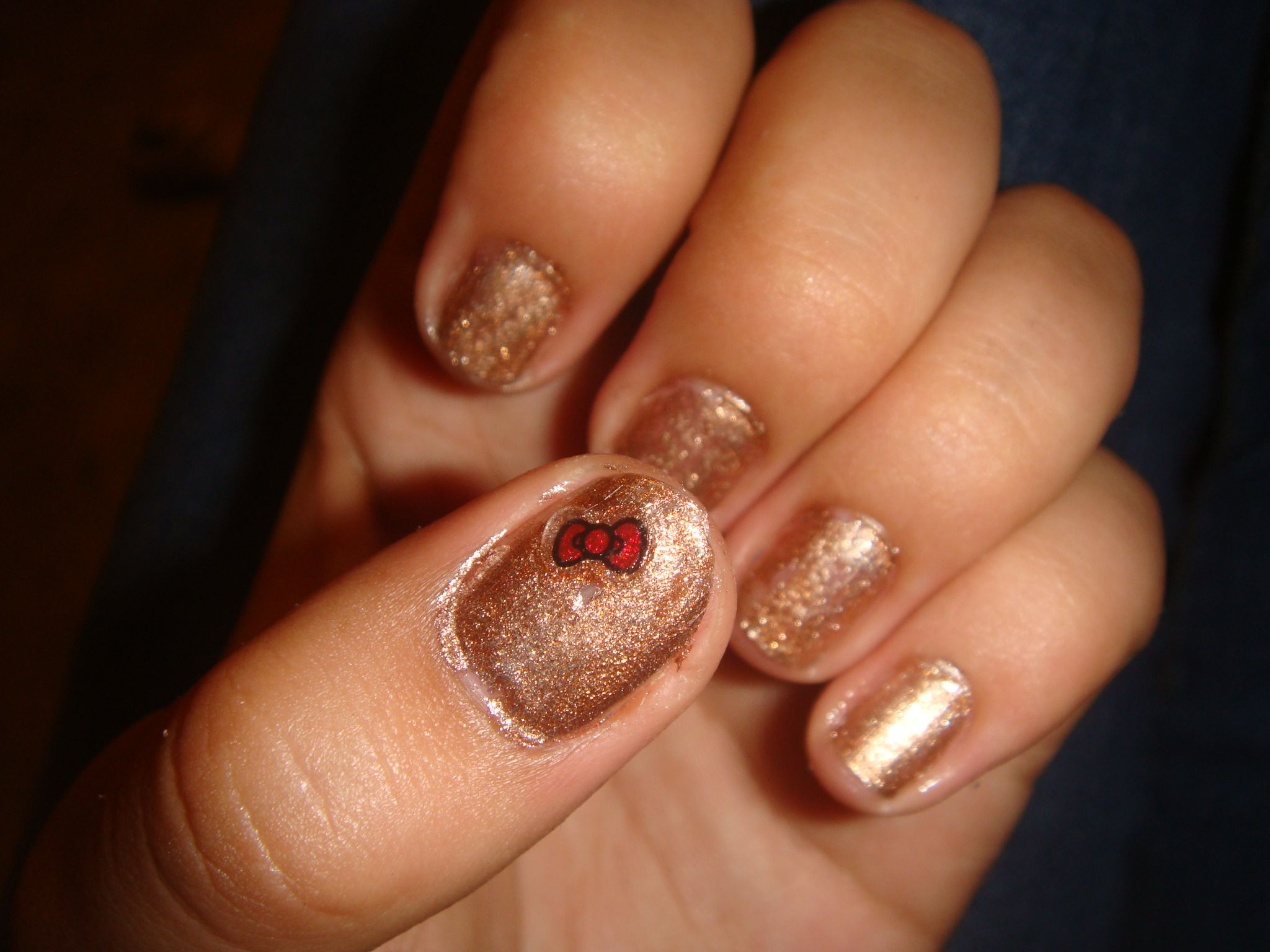 Target HK nail stickers
