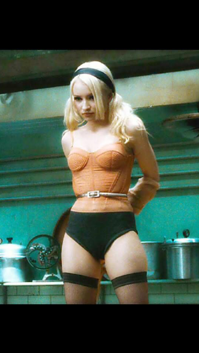 Emily Browning Underwear