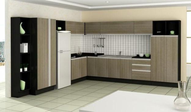 Diseños de muebles de cocinas de melamina modernos-9 | Muebles ...