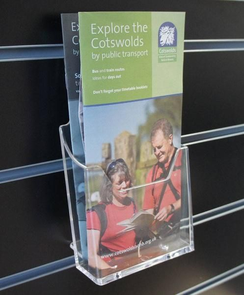 leaflet / brochure holders 3rd A4