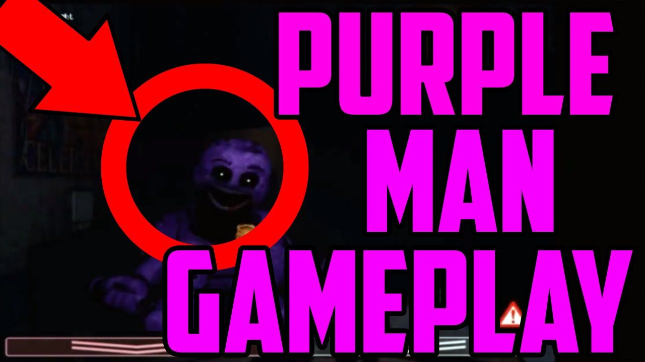 Five Nights At Freddy S 2 New Animatronic Purple Man Phone Guy