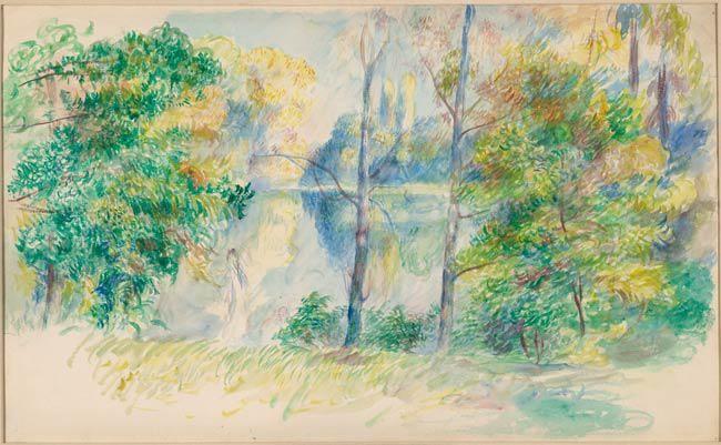 Renoir watercolor