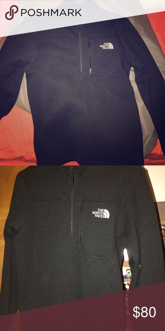 3f2d0acc4 Men's small north face half zip Basically brand new, just been ...