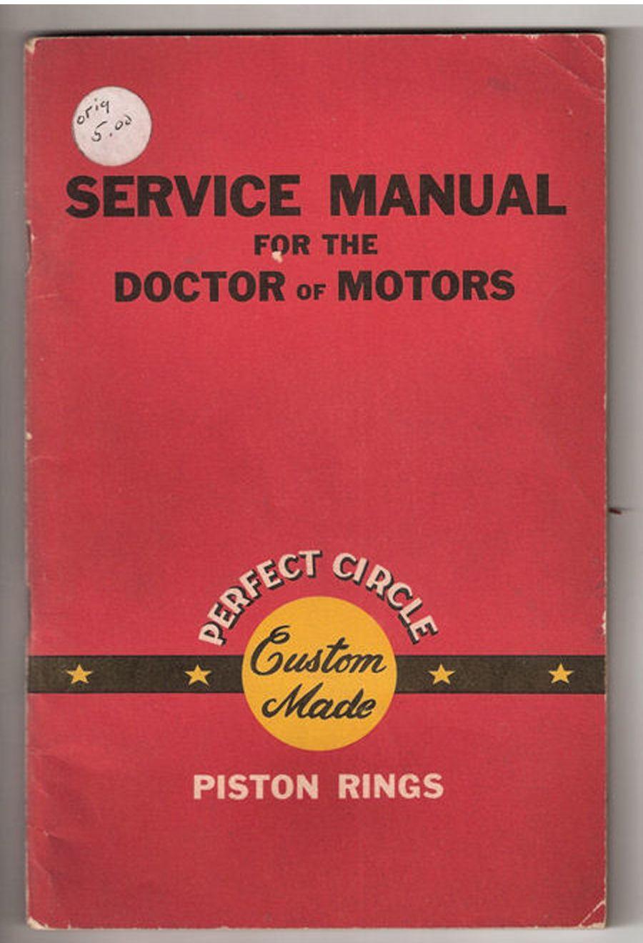 Perfect Circle Service Manual