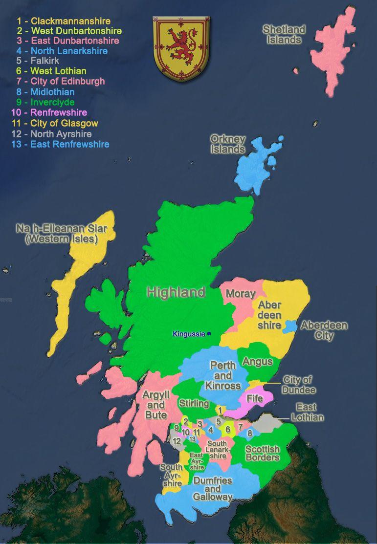 Mooseman De Gallery Scotland Country Info Scotland Map