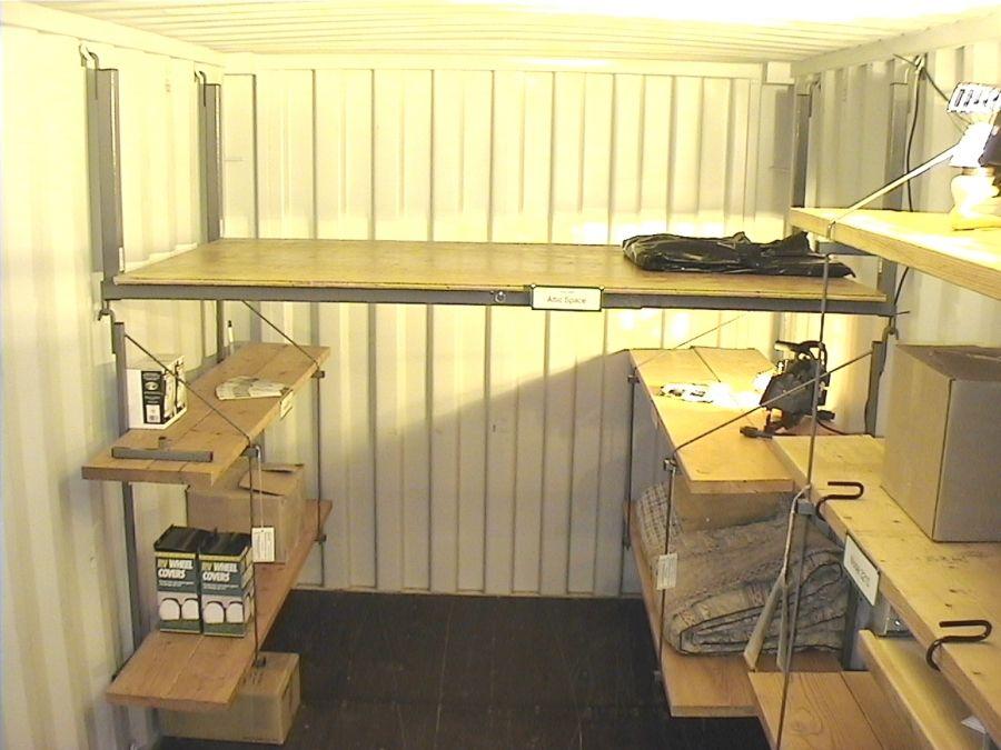 Mobili Loft ~ Loft shelving shipping containers shelving lofts