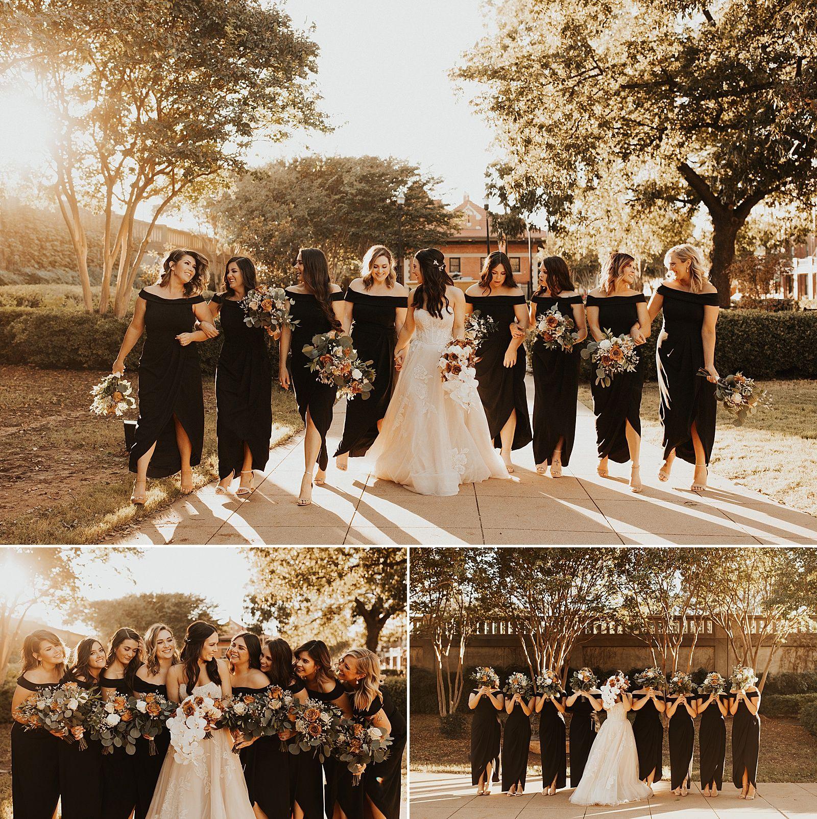 Grace Museum Wedding In Abilene Tx Lauren Alex Meg Amorette Photography Wedding Groomsmen Attire Black Bridal Parties Groomsmen Attire Black [ 1604 x 1600 Pixel ]